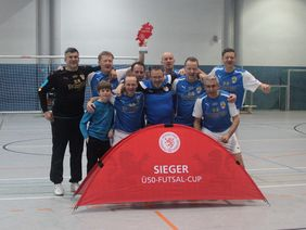Die Siegermannschaft aus Darmstadt. Foto: HFv
