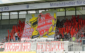 Die Fans beim letztjährigen Krombacher-Hessenpokalfinale. Foto: Wagner