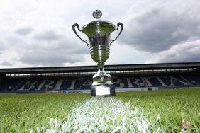 Der Krombacher Hessenpokal. Foto: Matheis