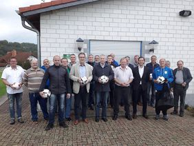 Die Teilnehmer des Vereinsdialoges in Marborn. Foto: privat