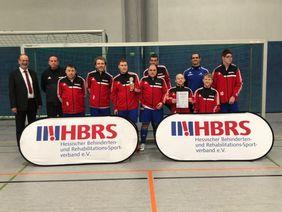 Die HBRS Hessenauswahl Fußball-CP wurde Vierter. Foto: privat