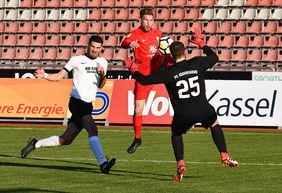 Der KSV Hessen Kassel ist auch in dieser Saison einer der Zuschauermagneten der LOTTO Hessenliga. Foto: Harry Soremski /bilderwerk-online