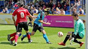 Marburg behielt gegen Stuttgart mit 1:0 die Oberhand. Foto: Sepp-Herberger-Stiftung