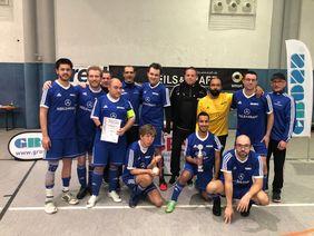 Die Sieger der HBRS Hessenauswahl Fußball-CP. Foto: Sebastian Schiller