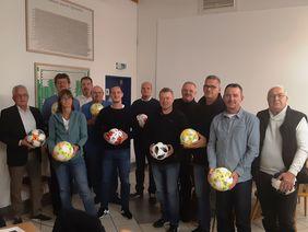 Die Teilnehmer des Vereinsdialogs. Foto: HFV