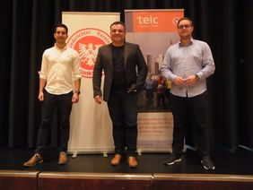 von links Siar Djamsched, Goran Culjak, Florian Möller