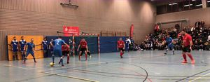 Szene aus dem Spiel SG 05 Büdingen - SC Viktoria Nidda