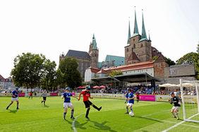 Blista Marburg gewann deutlich gegen Schalke 04. Foto:DFB-Stiftung Sepp Herberger