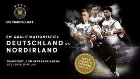 Live dabei sein beim EM-Quali-Spiel Deutschland vs. Nordirland. [Foto: DFB]