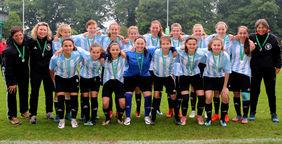Das Team der U14-Juniorinnen. Fotos: Zinsel