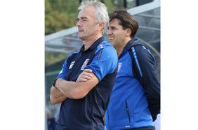 Stadtallendorfs Trainer Dragan Sicaja will den dritten Heimsieg in Serie [Foto: Raab].