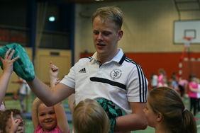 Im FSJ des Hessischen Fußball-Verbandes ist die Betreuung des Bambini-Mobils ein wesentlicher Bestandteil. [Foto: HFV]