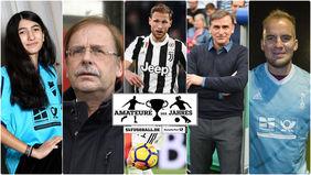 Die Jury der Amateure des Jahres. Collage: fussball.de