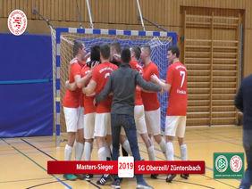 Glückliche Sieger, die Kreismeister der SG Oberzell/Züntersbach [Foto: Ausschnitt Film /HFV]