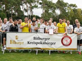 Bitburger-Kreispokalsieger Darmstadt: SC Viktoria Griesheim [Foto: Bitburger]