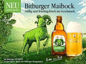 Frisch auf ins Frühjahr - mit Bitburger Maibock [Foto: Bitburger]