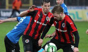 Spannend: das Osthessenderby zwischen Borussia Fulda und dem SV Steinbach. Foto: Görlich Media / Osthessen-Zeitung.de