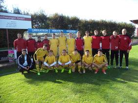 Das U19-Team des HFV. Foto: Fuoss