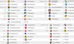 Spielplan 1. Spieltag 2021/2022