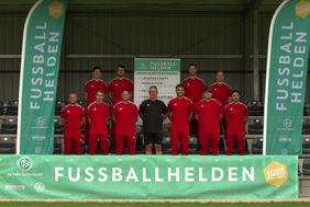 Hessische Fußballhelden in der Sportschule Wedau [Foto: DFB]
