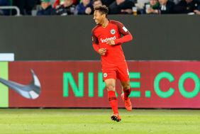 Sein Tor reichte nicht für drei Punkte in Wolfsburg - Eintrachts Jonathan de Guzman. [Foto: Getty Images]
