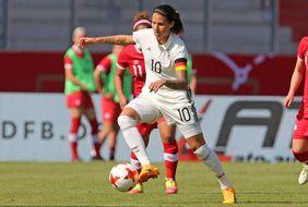Die deutsche Kapitänin Dzsenifer Maroszan könnte eine entscheidende Rolle bei der EM spielen. Foto: getty images