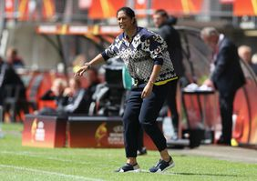 Frauen-Bundestrainerin Steffi Jones. Foto: getty images