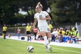 Laura Freigang ist die erfahrenste hessische Nationalspielerin im Kader. Foto: getty images
