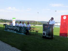 """Der """"open air""""-Kreisfußballtag Dillenburg. Foto: Plescher"""