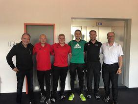 Die hessischen Teilnehmer mit dem DFB-Referententeam. Foto: privat