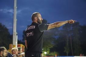 FC-Gießen-Trainer Cimen. Foto: HFV-Archiv