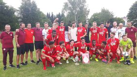 Eintracht Frankfurt ist aktueller Hessenpokalsieger der A- (Foto) und B-Junioren.
