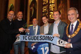 Der FC Gudesding wurde 2017 ausgezeichnet. Foto: HFV