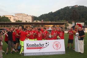 Der SVWW gewann zum sechsten Mal den Krombacher Hessenpokal