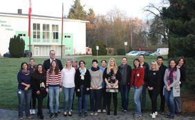 Gruppenfoto aller Teilnehmerinnen und Referenten Foto: HFV