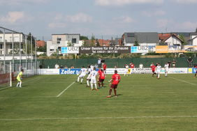 Neu in der Regionalliga Südwest: Der FC Bayern Alzenau. Foto: Gast
