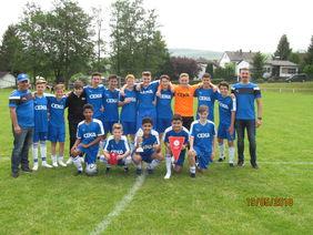Kreispokalsieger 2018 der C-Junioren: FC Burgsolms