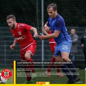 Der SC Hessen Dreieich hat sich den ehemaligen albanischen U21-Nationalspieler Anxhelo Mumajesi geschnappt. [Foto: Dominik Klaus]