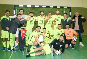 Futsal-Hessenpokalsieger SV Pars Neu-Isenburg. Foto: privat