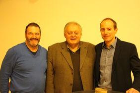 Zusammen mit seinen beiden Nachfolgern: v.l. Karl Müller (KSO 2004-2016) Reinhold Kreuter (KSO 1984-2004) Thorsten Eick (KSO seit 2016)