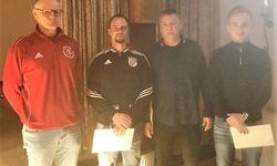Thorsten Riederer, Markus Frank, KFW Alexander Neul und Luca Hild
