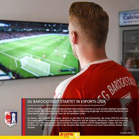 Ob die neue eSports-Abteilung der SGB an die großartigen Resultate der Fußballer anknüpfen kann? [Foto: Julius Böhm]