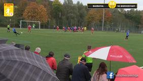 Der dreifache Punkteregen blieb für die SG Barockstadt Fulda-Lehnerz auch in Baunatal aus. [Foto: Ausschnitt Torshow]