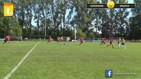 Der FC Eddersheim konnte das Top-Spiel mit 2:0 gegen den SC Hessen Dreieich für sich entscheiden. [Foto: Ausschnitt Torshow]
