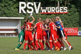 B-Juniorinnen 1. FFC Frankfurt. Foto: Ingo Hörning