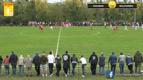 Der SV Rot-Weiß Hadamar steht durch seinen 2:0-Sieg gegen den SC Waldgirmes auf Platz fünf der LOTTO Hessenliga-Tabelle. [Foto: Ausschnitt Torshow]
