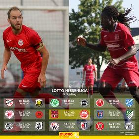 Rot-Weiß Walldorf möchte seine Durststrecke gegen Türk Gücü Friedberg beenden und drei Punkte mitnehmen. [Foto: Dominik Claus/Patrick Schuch]