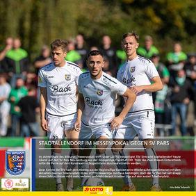 Wollen ins Bitburger Hessenpokal Viertelfinale, die Spieler des TSV Eintracht Stadtallendorf. [Foto: Stefan Tschernich]