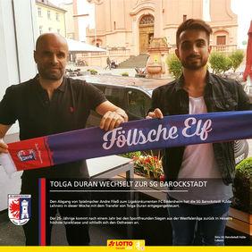 In Fulda möchte Tolga Duran zur neuen Saison seine tolle Scorerquote in der LOTTO Hessenliga fortführen. [Foto: SG Barockstadt Fulda-Lehnerz]