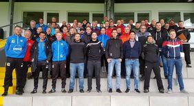 Die Teilnehmer der Trainerfortbildung: Foto: TSV Steinbach